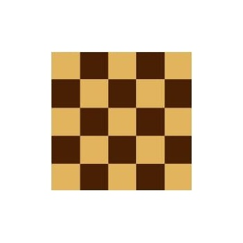 Chocolate Transfer Sheets 12'' x 15.5'' - Checkers 3