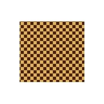 Chocolate Transfer Sheets 12'' x 15.5'' -  Vichy 4