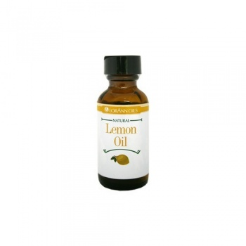 Lorann Oil Natural Lemon Super Strength Flavor Oil - 4oz