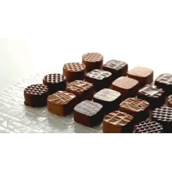 Chocolate Texture Sheets - 4 Patterns - 32 sheets