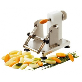 Le Tellier Apple Peeler - 2 Slice Widths - Suction Base