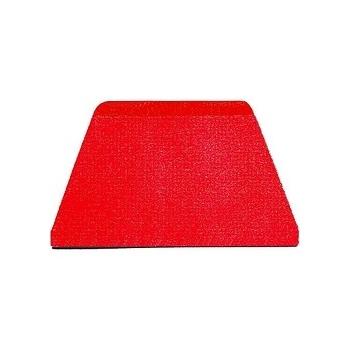 "Plastic Bowl Scraper -8 1/2"" X5"" - Trapezoidal"