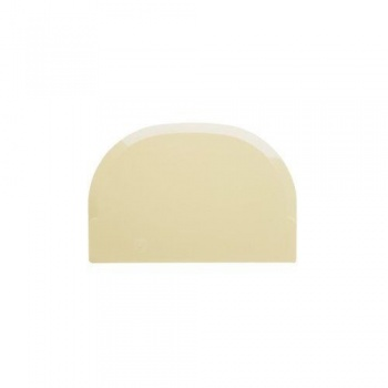 "Plastic Bowl Scraper -5 7/8"" X4"" - Rounded Rect"