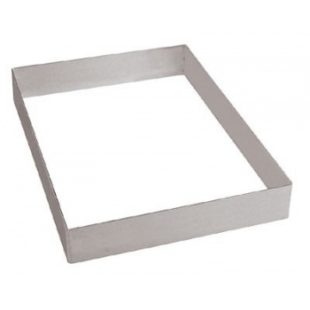 "Pan Sheet Extender Pastry Frame Half Size - L 15 3/4"" X 11 7/8"" X 2"""