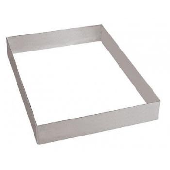 "Pan Sheet Extender Pastry Frame Half Size - L 15 3/4"" X 11 7/8"" X 2"""