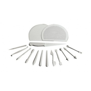 "Professional Set Of 15 Marzipan Tools - L 6"""