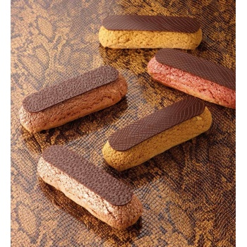 Texture Sheets for Chocolate 40 x 60 cm - Snake