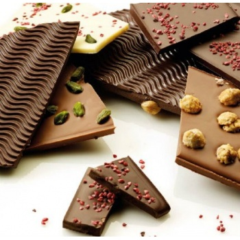Texture Sheets for Chocolate 40 x 60 cm - Mini Waves