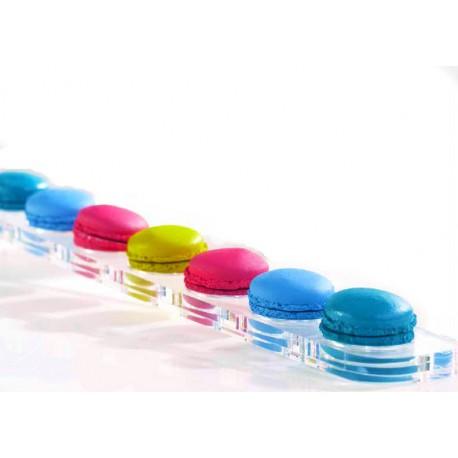 Macarons Display - Holds 7 macarons - 45x6cm - 6cm