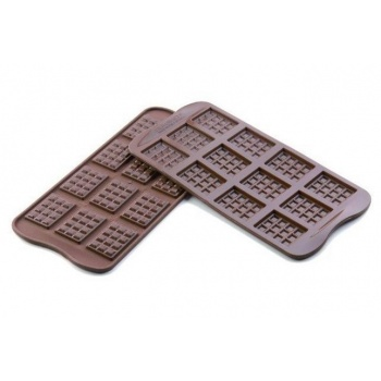 Silikomart Silicone Chocolate Mold Mini Tablets 38x28x4,5 mm