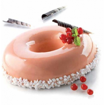 Silikomart Silicone Rounded Savarin Mold - Ø 160-80 h 40 mm