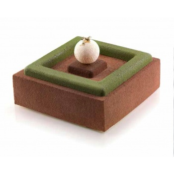 Silikomart Square Inserts Mold for Entremets 40x40mm to 240x240mm H 10 mm