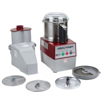 Robot Coupe R2N ULTRA Combination Processors: Bowl Cutter, Mixer and Vegetable Prep