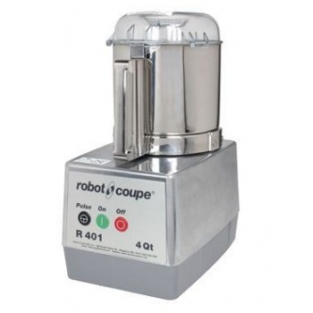 Robot Coupe R401B Food Processor with with 4.5 qt. Stainless Steel Bowl - 120V