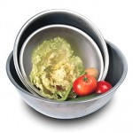 Stainless Steel Deep Set of 6 Mixing Bowls 0 5Qt-10.75Qt Capacity