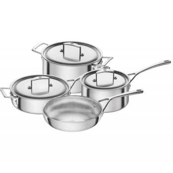 Zwilling Aurora 5-Ply Stainless Steel Cookware 7-pc  Set
