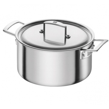 Zwilling Aurora 5-Ply Stainless Steel Dutch Oven 5.5-qt