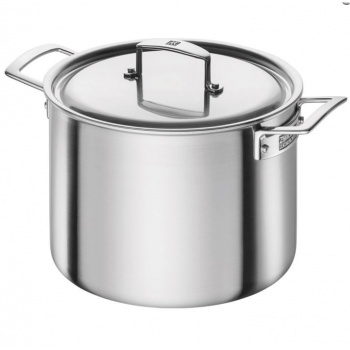 Zwilling Aurora 5-Ply Stainless Steel Stock Pot 8-qt