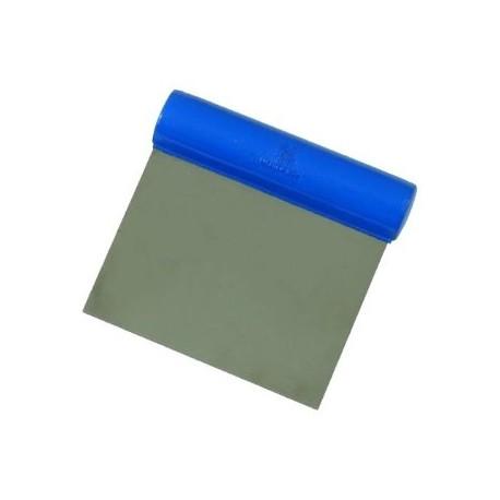 Matfer Bourgeat DOUGH CUTTER: Rigid blade: Straight cut length 4 3/8 in. , width 4 1/2 in. 4 oz.