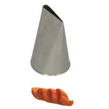 St Honore Slim Pastry Tip- Stainless Steel