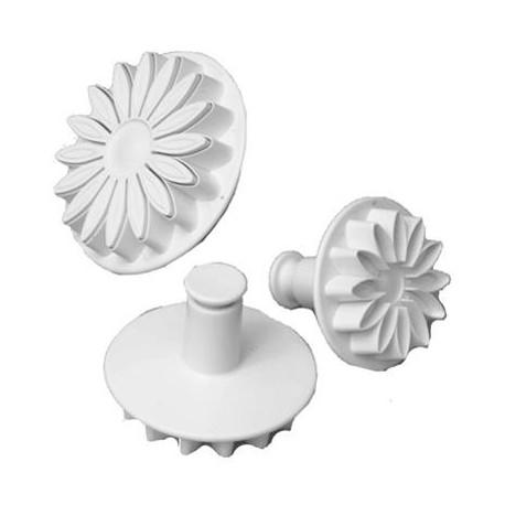 "PME Sunflower/Daisy Plunger Cutter - Small 1-3/4"" (45 mm)"