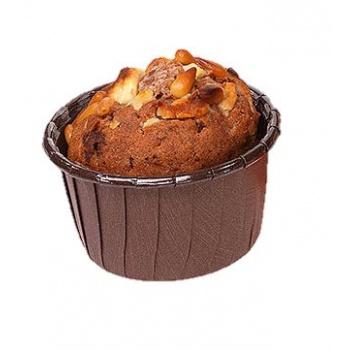 Frestanding Paper Baking Cup Brown - 2.6''x 1 7/16'' - 50pcs