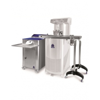 Selmi Automatic Truffle - COATING MACHINE FOR TRUFFLES IN TWO SECTIONS