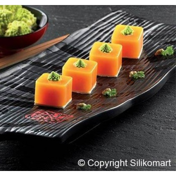 Silikomart Silicone Mold Sushi Maki 1,37 x 1,37 h 0,98 inch - SF175