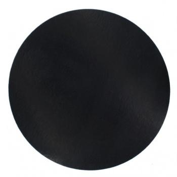 9'' Black Round Cake Board - 50 pack
