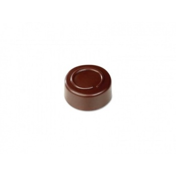 Pavoni Polycarbonate Chocolate Molds - Artisanal Round Line 21 pralines. 10 gr ca. Mould 275x135 mm. ø 28 mm h 14 mm.