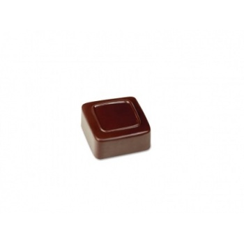 Pavoni Polycarbonate Chocolate Molds - Artisanal  Square Line - 21 pralines. 10 gr ca. Mould 275x135 mm. 26x26x13 h mm.