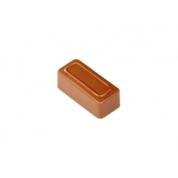 Pavoni Polycarbonate Chocolate Molds - Artisanal  Rectangular Line 21 pralines. 10 gr ca. Mould 275x135 mm. 37x16x14 h mm