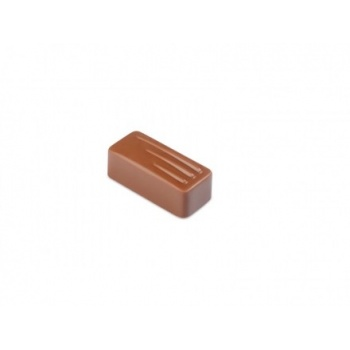 Pavoni Polycarbonate Chocolate Molds - Artisanal  Rectangular Fork 21 pralines. 10 gr ca. Mould 275x135 mm