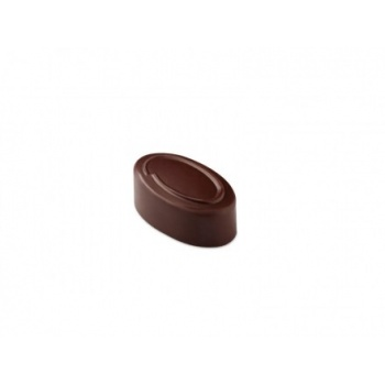 Pavoni Polycarbonate Chocolate Molds - Artisanal Ovale Line 21 pralines. 10 gr ca. Mould 275x135 mm. 37x21x14 h mm