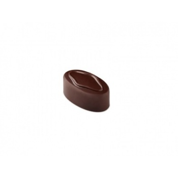 Pavoni Polycarbonate Chocolate Molds - Artisanal Square Dot 21 pralines. 10 gr ca. Mould 275x135 mm. 37x21x14 h mm