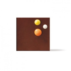 Belgian Chocolate Decoration Square Dots - 360 Pces
