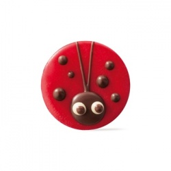 Belgian Chocolate Decoration Ladybug - 176 Pces