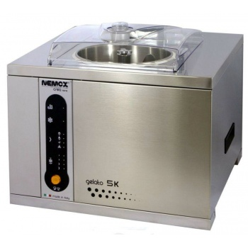 Nemox Gelato Pro 5K Professional Gelato, Ice Cream & Sorbet Makers