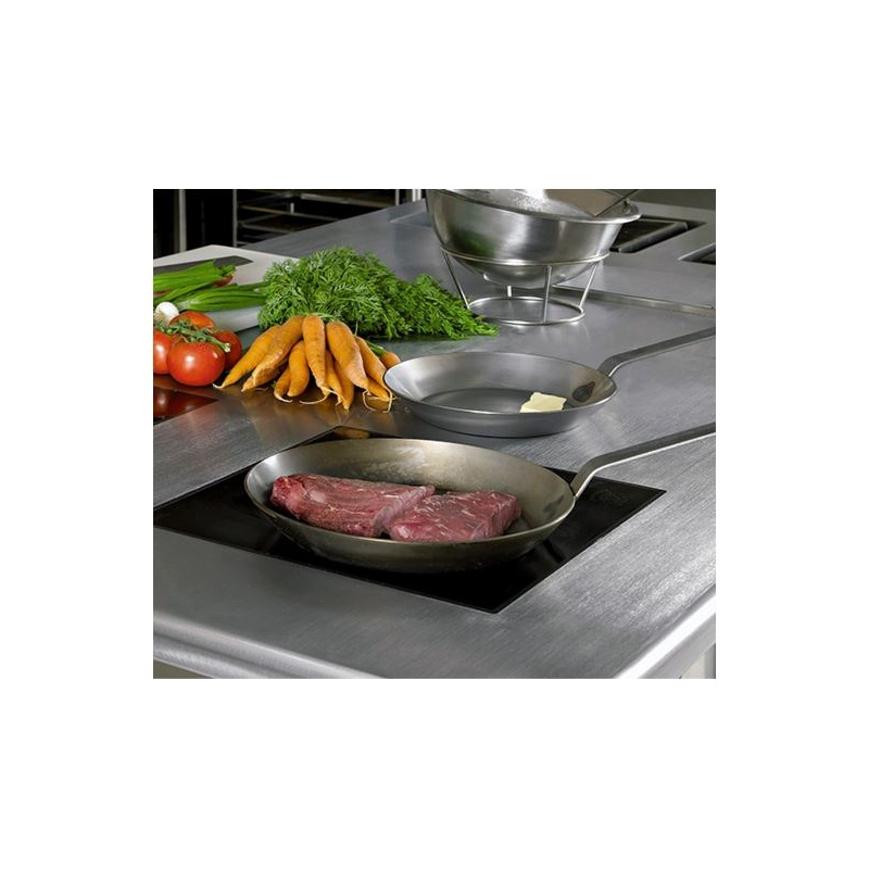 Matfer Bourgeat 062005 Matfer Bourgeat Black Steel Fry Pan