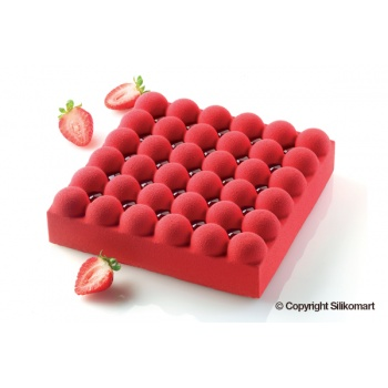 Silikomart Professional Silicone Mold BUBBLE - 180 x 180 H 50 mm