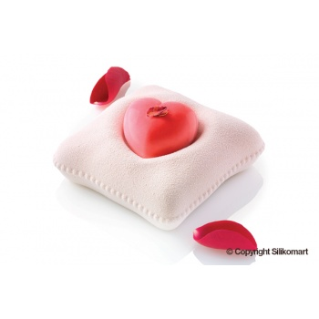 Silikomart Professional TI VOGLIO BENE 270 Silicone mold kit - Heart Mold and Pillow