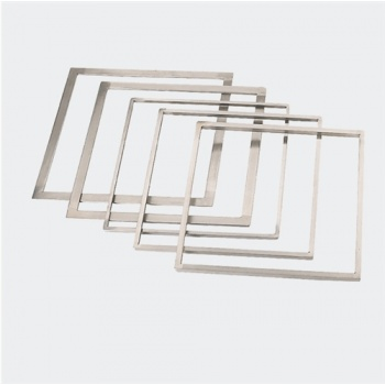 De Buyer Stainless Steel Ganache Frame 12mm - 33.7cm x 33.7cm