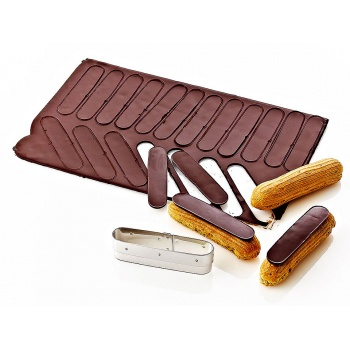 Matfer Bourgeat Eclair Cutter for Frosting Éclair