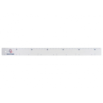 Matfer Bourgeat Graduated Pastry Ruler 25''x2''