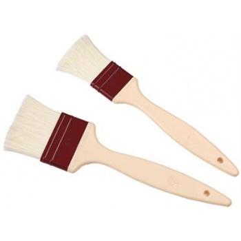 Matfer Bourgeat Polyamide Fiber Pastry Brush - 2'' Width