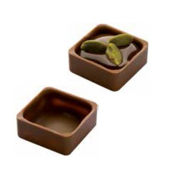 Polycarbonate Chocolate Shells Molds - Square - 24 Cavity - 9g
