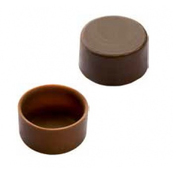 Polycarbonate Chocolate Shells Molds - Round - 24 Cavity - 9g