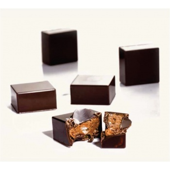 Polycarbonate Chocolate Mold - Square - 24 pcs 25x25 h13mm - 9 gr approx