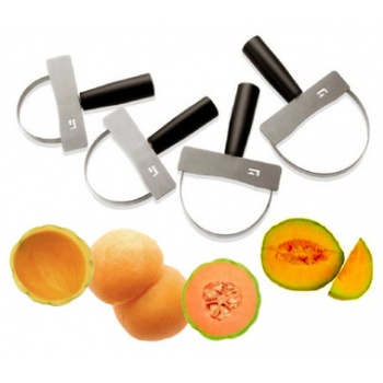 Set of 4 Melon Peelers