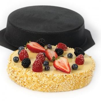 "Sasa Demarle Flexipan - Sponge Cake / Cheesecake Ø 7.06"" X 2.75''- FM325"